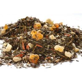 Sencha Feuerblume – grüner Tee aromatisiert