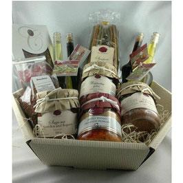Gourmet Präsentkorb,Geschenkkorb,Freßkorb,mediterrane Feinkost,Schlemmerkorb
