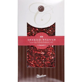 Meybona Erdbeer -Pfeffer Schokolade 100g