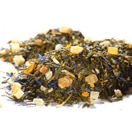 Sencha Kaktusfeige – grüner Tee aromatisiert