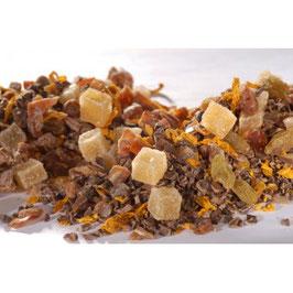 Dattelzauber Schokolade küsst Ingwer – Früchtetee aromatisiert