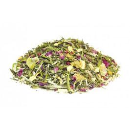 Tee der Shaolin – Grün weißer Tee aromatisiert