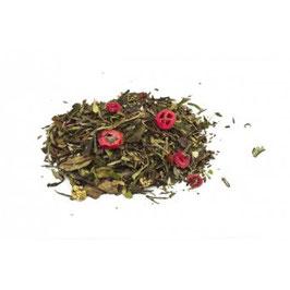 Goji Cranberry Granatapfel – Grün weißer Tee aromatisiert