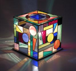 Lampe cube 01  20/20cm