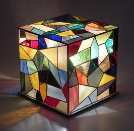 Lampe cube 03  24/24cm