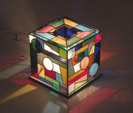 Lampe cube 02  20/20cm
