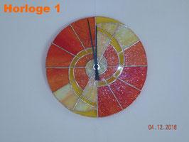Horloges Tiffany artisanales Ø 29cm