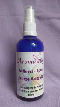"""Wellness Spray """"Kurze Auszeit"""""""