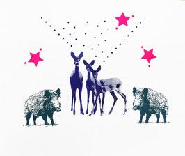 "Adventskalender ""Bambi"" mit Familie // NO. 2"