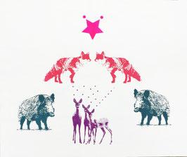 """Adventskalender """"Le Renarde le Star"""" mit Familie // NO. 4"""