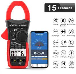 BluetoothAPPクランプ電流計 直流/交流