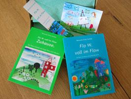 """Geschenkbox """"Flo W. voll im Flow"""""""