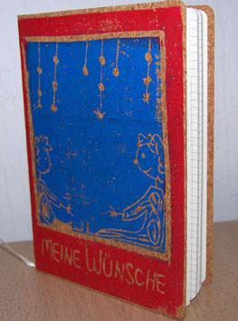 """Notizbuch """"Meine Wünsche"""""""