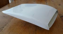 Prise d'air / Ecope de toit double - Blanc - Réf. ac003.b