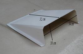 Prise d'air / Ecope d'air - Blanc - Réf. ac008m.b