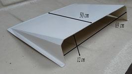 Prise d'air de toit / Ecope de toit - Blanc - Réf. ac008g.b