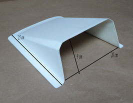Prise d'air / Ecope d'air - Blanc - Réf. ac008p.b