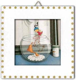"""Toup'tit Carré """"L'aquarium de Marianne."""""""