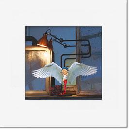 """Tirage limité """"Le petit ange""""."""