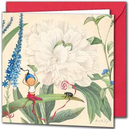 """Carte postale """"Le coléoptère""""."""