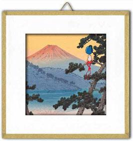 """Toup'tit Carré """"Le Mont Fuji."""""""