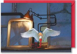 "Carte postale ""Le petit ange""."