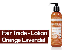 Dr. Bronners Lotion Orange-Lavendel