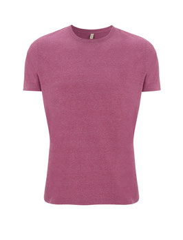 Salvage: Recycling-Unisex-Shirt in 6 Farben meliert