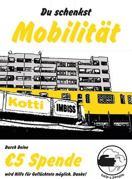 Deine Spende für Mobilität