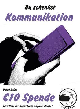 Deine Spende für Kommunikation
