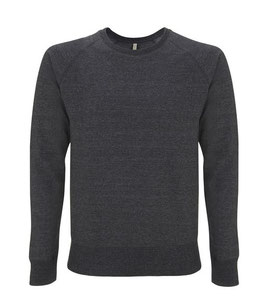 Salvage: Recycling-Sweater Unisex Black Melange