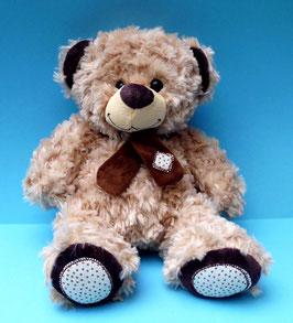 Teddybär mit Schal Plüschtier Stofftier Kuscheltier