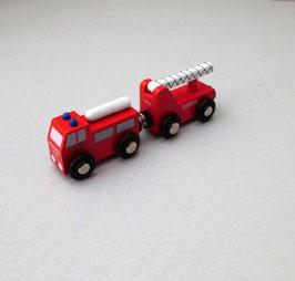 Holzeisenbahn Zubehör Feuerwehrzug
