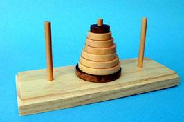 Rätselhafter Turm Geduldsspiel Knobelspiel Kombinationsspiel