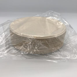 "Plates, 6"" Compostable, Sleeve"