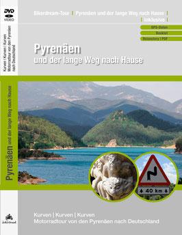 Motorradtour durch die spanischen Pyrenäen | DVD + GPS-Daten