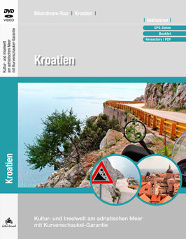 Motorradtour durch Kroatien | DVD + GPS-Daten