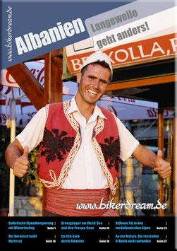 Motorradtour durch Albanien | gedruckte Tourstory