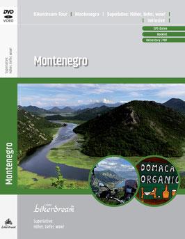 Motorradtour durch Montenegro | DVD + GPS-Daten