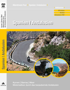 Motorradtour durch Andalusien | DVD + GPS-Daten