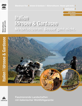 Motorradtour an Idrosee & Gardasee | DVD + GPS-Daten