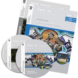 Motorradtour Gesamt-Baltikum + Litauen & Lettland | 2 DVDs + GPS-Daten