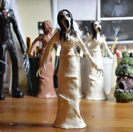 Slendrina (Glow in the Dark) Hand Painted Resin Statue/Figure