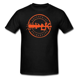 DLK Enterprise T-Shirts (Orange Stamp)