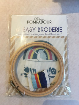 Set broderie arc en ciel danseuse