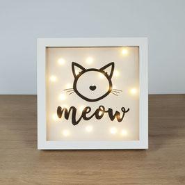 """Bilderrahmen """"Meow"""""""