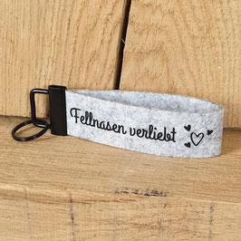 "Schlüsselanhänger ""Fellnasen verliebt"""