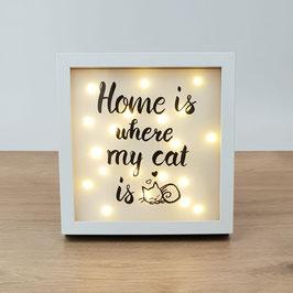 """Bilderrahmen """"Home"""""""