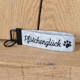 "Schlüsselanhänger ""Pfötchenglück"""