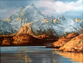 """""""Abend auf den Lofoten, Norwegen"""""""